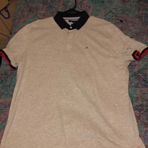 Grey Tommy Hilfiger Polo